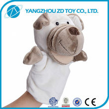 China supplier plush gift family full body hand puppet