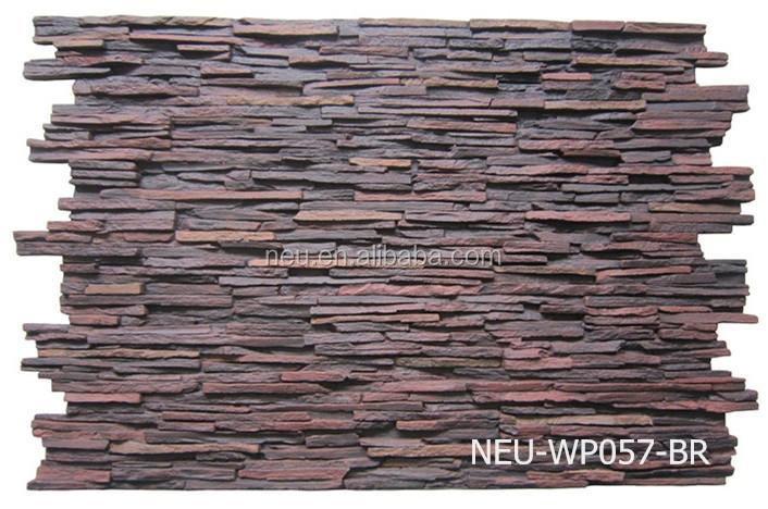 Fireproof Waterproof Panels : Pu faux stone panel waterproof fireproof d
