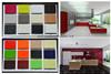 UV Paint melamine mdf board For Kitchen Doors