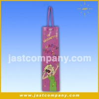 Musical Wine Paper Gift Bags, Cheap Small Musical Paper Gift Bags with Handle