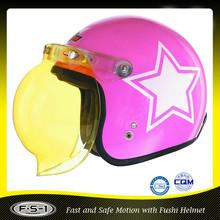 DOT FUSHI Fashion open face motorcycle helmet cheap motorcycle helmet supplier