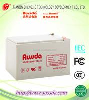 Widely used sealed GE valve control DC12V 12ah lead acid storage battery for UPS