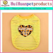 Wholesale plain pet clothes dog cat T shirt dog top xxxl dog clothes