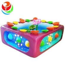 new indoor amusement lotus fishing water games for kids
