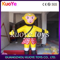 inflatable costumes inflatable moving cartoon,inflatable monkey cartoon