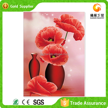 5d diy diamond embroidery painting on canvas decorative flower diamond painting factory supplier