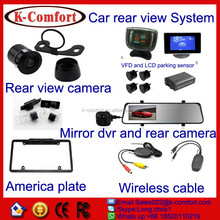 K-comfort factory derectly sell reverse camera for renault for export to all over the world