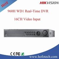 hikvision 16ch high level DVR , WD1 resolution realtime cctv dvr DS-7316HWI-SH
