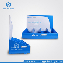 China Wholesale Retail Shop Easy Assemble Small Counter Display Box