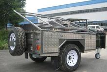New design caretta caravan off road camper trailer for sale