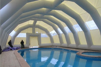 inflatable tent/huge inflatable dome tent /inflatable swimming pool tent