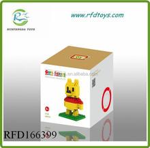 Hot new products for 2015 diy toys cartoon figure plastic loz diamond nano block