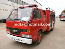 JMC 1.5-3T small water foam tender tank fire fighting truck 4x2 fire truck