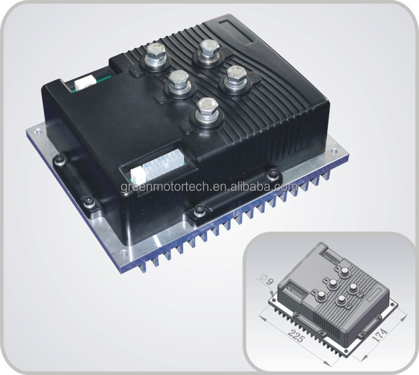 Electric car controller engine controller view electric for Dc motor controller for electric car