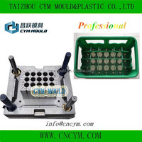 high quality customer made plastic beer bottle case mold
