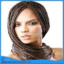 Fashion Synthetic Ombre Marley Hair Braid, Afro Marley Braids, Kinky Curly Braiding Hair
