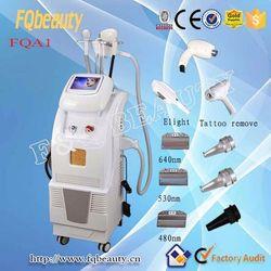 FQA1 Multifunctional ipl hair removal beauty equipment/elight ipl rf machine