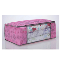 2015 new products large PP Non woven PVC storage bag for quilt carried bag plastic quilt bag