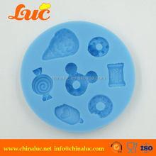 Best quality stylish custom cross silicone soap molds