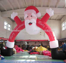 Hot sale inflatable christmas archway