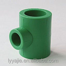 Imported material PPR pipe fitting different colors PPR equal tee
