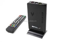 External Lcd Vga Pc Monitor Tv Tuner Box-tv tuner box/qs798 BLACK