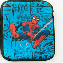 Spider Printing Neoprene computer bag for Ipad