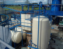 Oil recycling equipment engine oil refining unit fractional distillation with high oil output