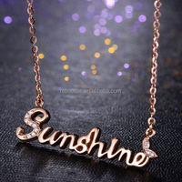 Top Products Elegant Fashion Jewelry gold north stars charms necklace