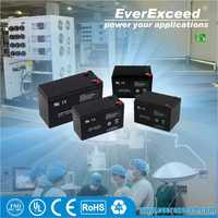 EverExceed 12v 22ah small deep cycle ups battery