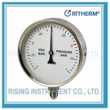 11021001Stainless steel pressure gauge 100mm