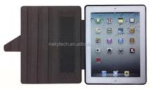 Factory Price pc/tpu Hard bamboo Case for iPad 5