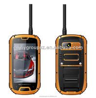 smart phone 4.3' Quad Core 3G wifi GPS IP68 Rugged Android mobile phone external antenna
