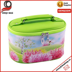 Personalized Fashion Cosmetic Storage Bag Leather Makeup Bag