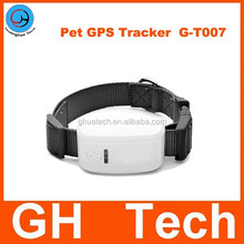 GH G-T007 waterproof Mini / Waterproof GSM-GPS-AGPS dog gps Tracker for Kids/ Pet Dog Cats GPS Tracking System