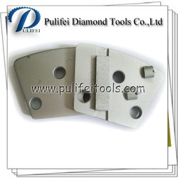 PCD Diamond Tool of PCD Concrete Grinding Shoe for expoxy glue paint concrete floor