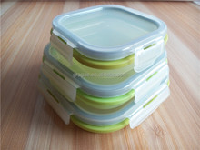 Factory directly sell for Silicone Collapsible storage container/Fresh Box