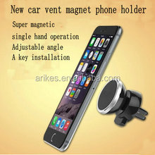 A-15 Magnet car Vent Car Mount For Mobile Phone Magnetic Air Vent Mount for Apple 6/6 Plus/5s/5c, Galaxy Note 4/3, Galaxy S6/
