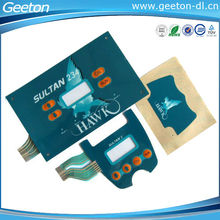 2015 China Polyester Tactile Graphic Keys Membrane Keypads Panel