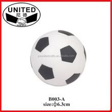 Promotional foam stress soccer ball/football size 5# 4# 3# 2# 1# brand logo custom print PU/PVC