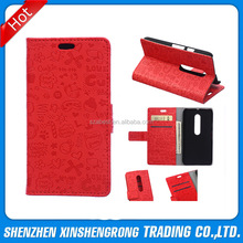 for Motorola Moto G3 Leather Case, Lovely Wallet Case for Girl Compatible with Motorola G3