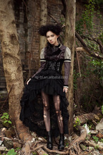 rq-bl Gothic Vampire Full Lace Maxi Skirt