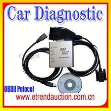 2015 Hot sale OBD2 ELM327 OBD/OBDII Scanner Car Diagnostic Interface ELM327 diagnostic interface support all OBD2 protocols