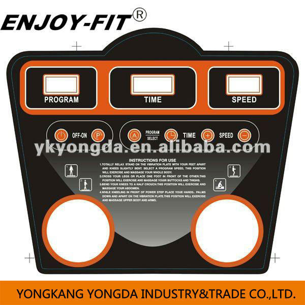 FITNESS EQUIPMENT CRAZY FIT MASSAGE WITH MP3 VIBRATION PLATE super fit massage