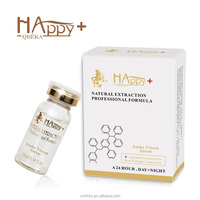 Eliminate wrinkles QBEKA Happy+ synthetic snake venom face serum instant face lift serum