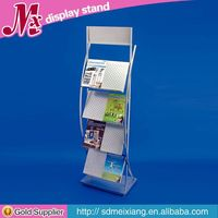 Metal display mobile cheap, MX9583 display shelf for shop decoration clothing store