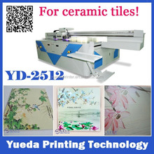 Industrial print head UV ceramic tile printing machine for ceramics