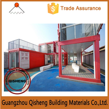 Newly Designed movable camp 40 ft container house / 2015 style container home in Guangzhou for sale