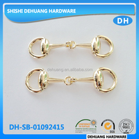 new and fashion metal gold color shoe accessories/ shoe decoration for lady shoes