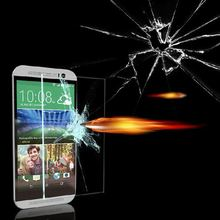 perfectly fit ! 9H hardness 0.2MM OTAO tempered glass screen protector for HTC m7